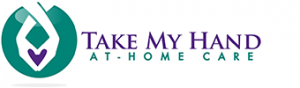 ake My Hand At-Home Care, Whatcom County Elder Care Provider logo